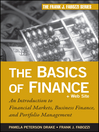 The Basics of Finance (eBook): An Introduction to Financial Markets, Business Finance, and Portfolio Management
